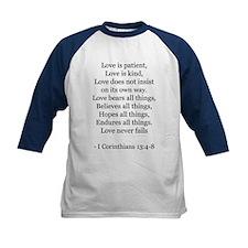 I Corinthians 13:4-8 Tee