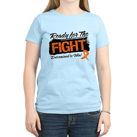 Ready Fight Kidney Cancer Women's Light T-Shirt
