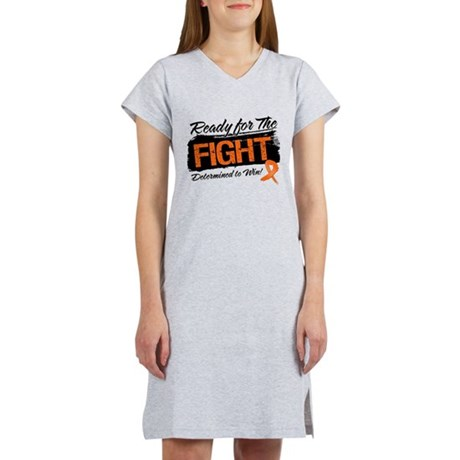 Ready Fight Kidney Cancer Women's Nightshirt