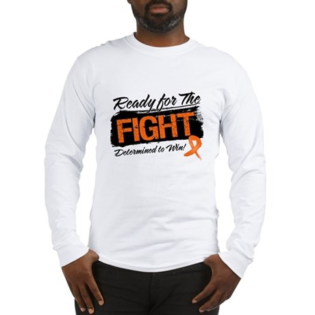 Ready Fight Kidney Cancer Long Sleeve T-Shirt