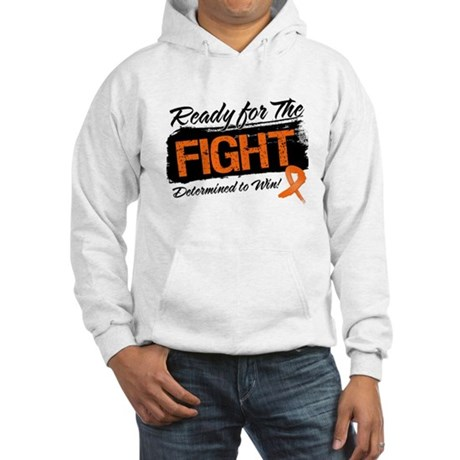 Ready Fight Kidney Cancer Hooded Sweatshirt