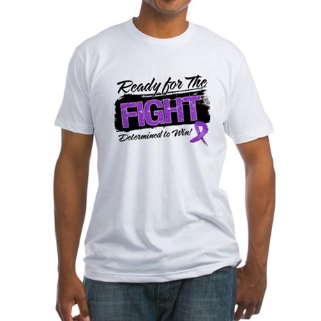 Ready Fight Leiomyosarcoma Fitted T-Shirt