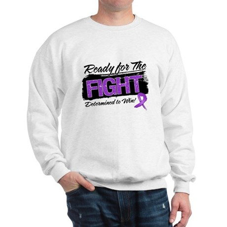 Ready Fight Leiomyosarcoma Sweatshirt