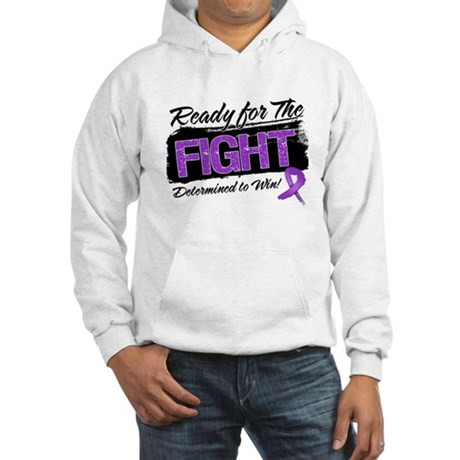Ready Fight Leiomyosarcoma Hooded Sweatshirt