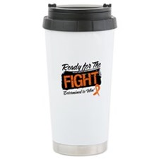 Ready Fight Leukemia Ceramic Travel Mug