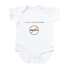 I AM NOT A SCIENCE EXPERIMENT Infant Bodysuit