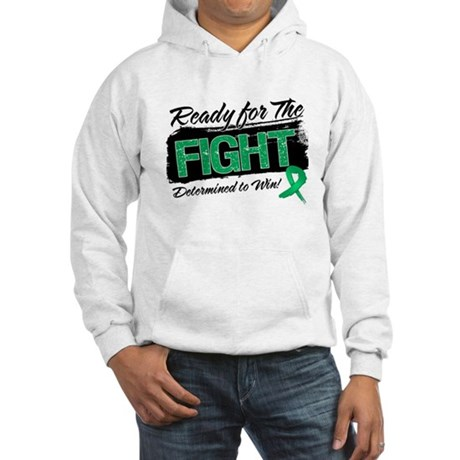Ready Fight Liver Cancer Hooded Sweatshirt