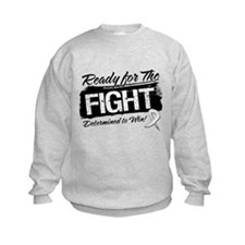 Ready Fight Lung Cancer Sweatshirt
