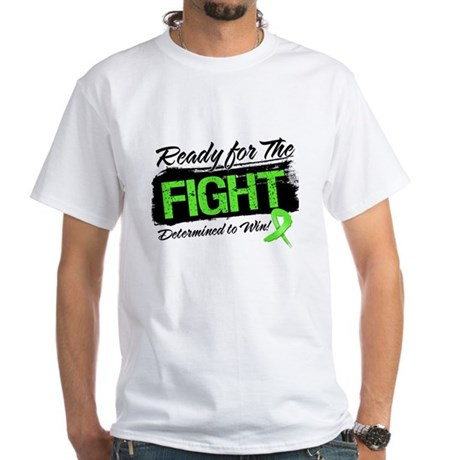 Ready Fight Lymphoma White T-Shirt