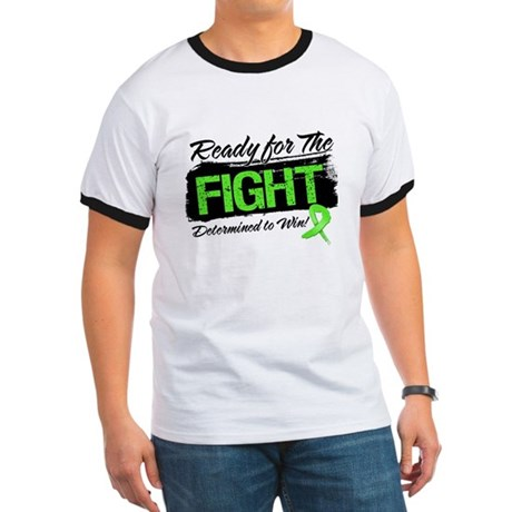 Ready Fight Lymphoma Ringer T