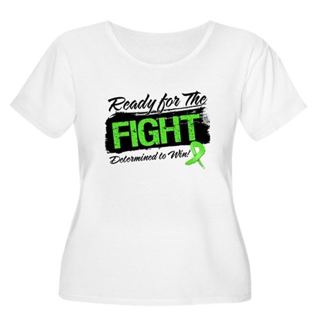 Ready Fight Lymphoma Women's Plus Size Scoop Neck 