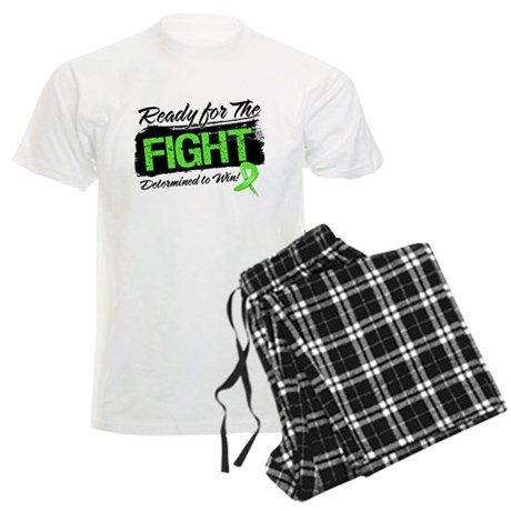 Ready Fight Lymphoma Men's Light Pajamas
