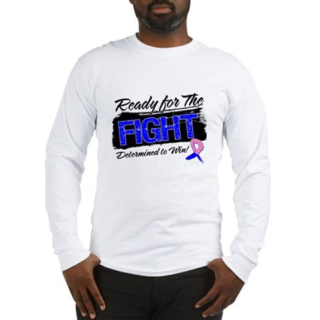Fight Male Breast Cancer Long Sleeve T-Shirt