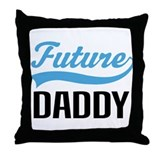 Future Daddy Gift Throw Pillow