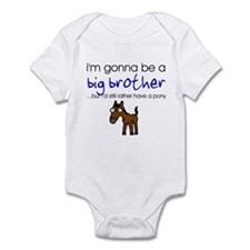 I'm gonna be a big brother Infant Creeper