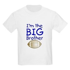 I'm the Big Brother (football) Kids T-Shirt