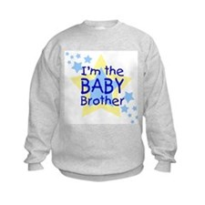 I'm the Baby Brother (Star) Sweatshirt