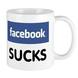 Facebook Sucks Coffee Mug