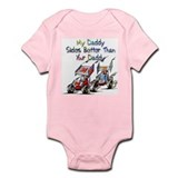 Sprint Car Fanatic Infant Creeper