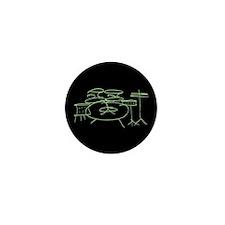 Green Mini Button (10 pack)