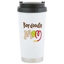 Bordoodle Dog Mom Ceramic Travel Mug