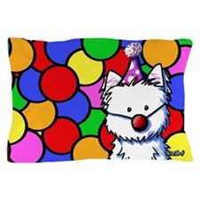 Birthday Westie Pillow Case