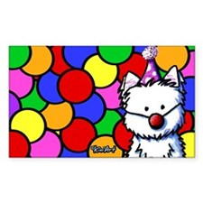 Birthday Westie Decal