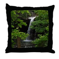Waterfall Bliss Throw Pillow