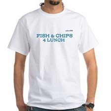 Fish Chips 4 Lunch Holdem T Shirt