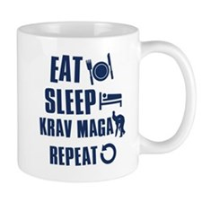Eat Sleep Krav Maga Mug