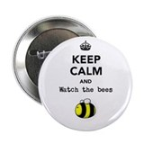 """Watch the bees"" 2.25"" Button"