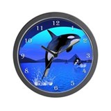 Orca 1 Wall Clock