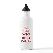K C Drink Malbec Water Bottle