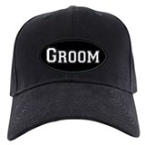 Cute Groom Baseball Cap