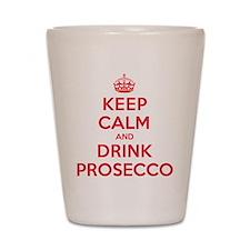 K C Drink Prosecco Shot Glass