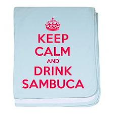 K C Drink Sambuca baby blanket