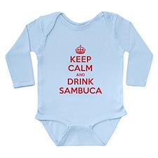 K C Drink Sambuca Long Sleeve Infant Bodysuit