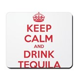 K C Drink Tequila Mousepad