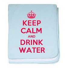 K C Drink Water baby blanket