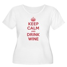 K C Drink Wine T-Shirt