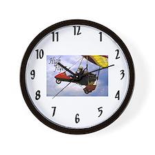 High Flyer Wall Clock