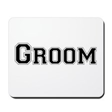 Cute Bride groom Mousepad