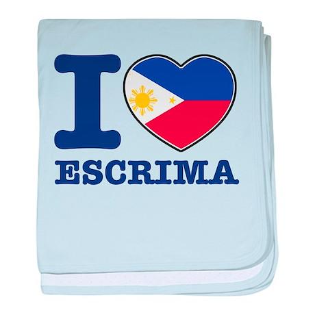 Escrima Flag Designs baby blanket