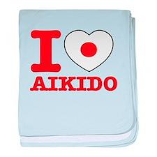 Aikido Flag Designs baby blanket