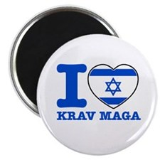 "Krav Maga Flag Designs 2.25"" Magnet (10 pack)"