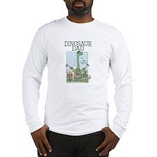Dino Dad Grill Master Long Sleeve T-Shirt