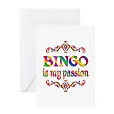 BINGO Passion Greeting Card