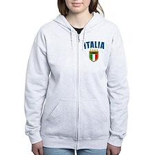 Italian World Cup Soccer Zip Hoodie