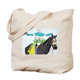 Mike Smith and Zenyatta Tote Bag