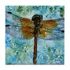 Dragonfly Dips Tile Coaster